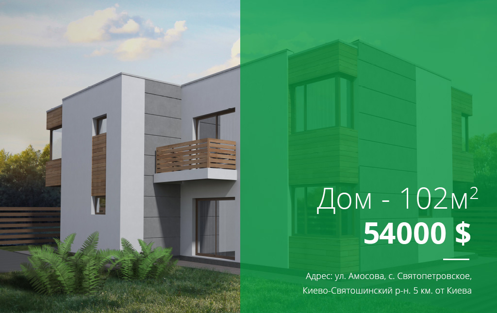 Дом в с. Святопетровское